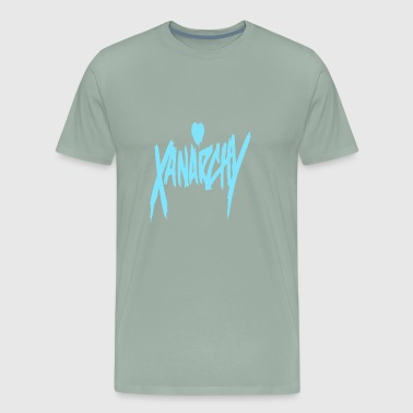 Xanarchy Blue - Men's Premium T-Shirt