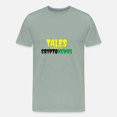 Tales Tales from the CryptoNewbs - Men's Premium T-Shirt