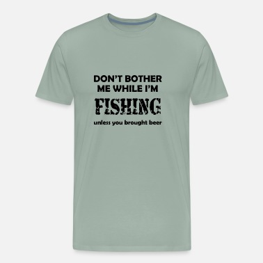 Walleye Fishing Fishing - Men's Premium T-Shirt