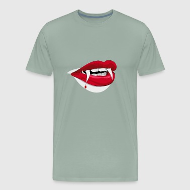 halloween teeth - Men's Premium T-Shirt