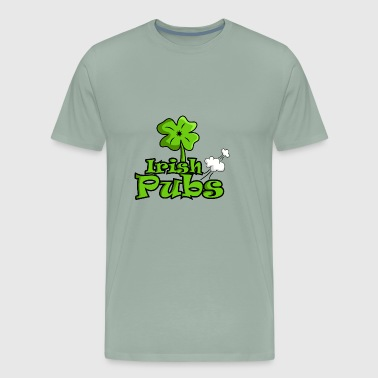 Irish Pubs - Men's Premium T-Shirt