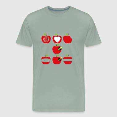 apple - Men's Premium T-Shirt