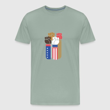 United We Stand, Proud to be an american, 4th july - Men's Premium T-Shirt