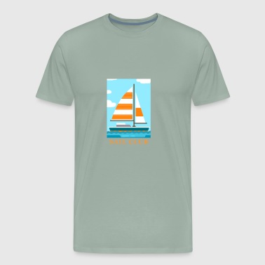 Sail club - Men's Premium T-Shirt