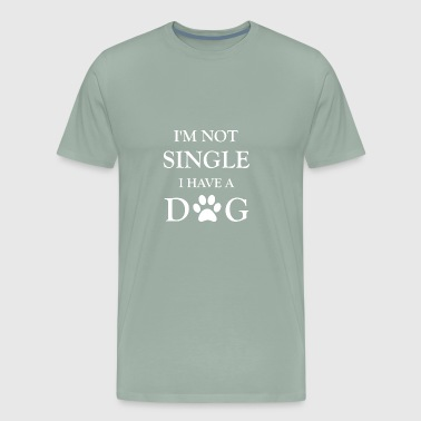 dog single - Men's Premium T-Shirt