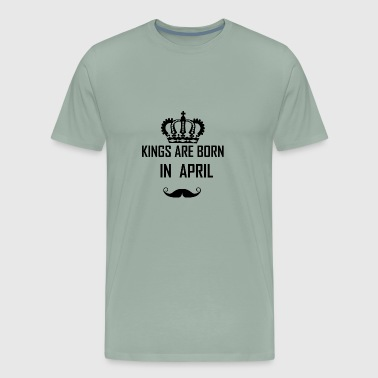 birthday april - Men's Premium T-Shirt