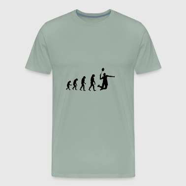 Badminton Evolution - Men's Premium T-Shirt