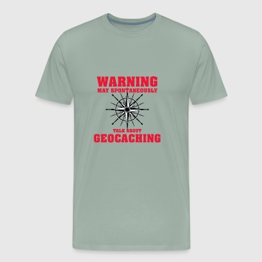 Tupperware Geocaching - Men's Premium T-Shirt