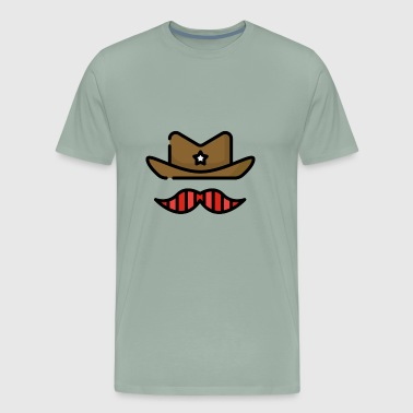Cowboy USA - Men's Premium T-Shirt