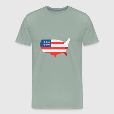 Independence Day USA - Men's Premium T-Shirt