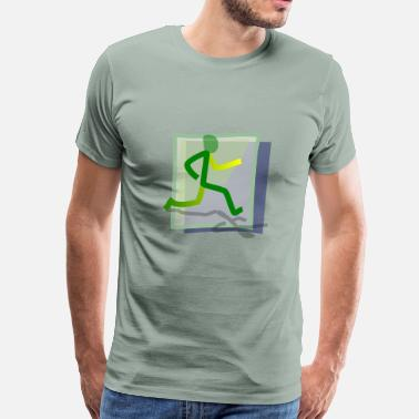 Runner Stuff runner - Men's Premium T-Shirt