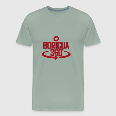 Boricua 360 red - Men's Premium T-Shirt