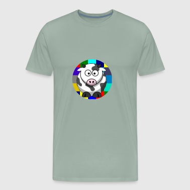 Cow - Men's Premium T-Shirt