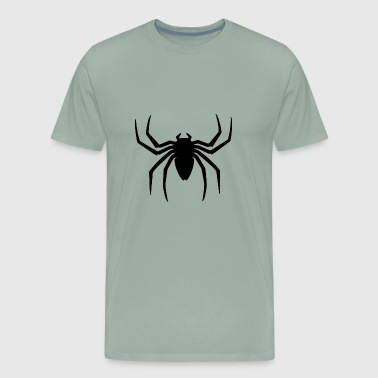 Spider Logo Man Woman iron - Men's Premium T-Shirt