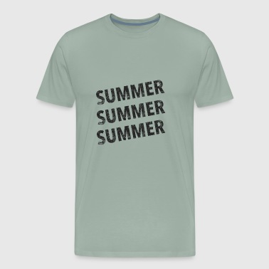 Summer Summer Summer -black - Men's Premium T-Shirt