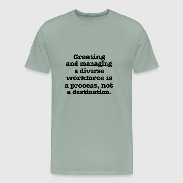 Put On Creating and - Men's Premium T-Shirt