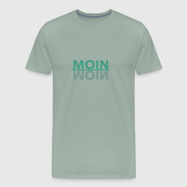 Moin moin moin hamburg german - Men's Premium T-Shirt