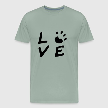 Love at first bark - Men's Premium T-Shirt