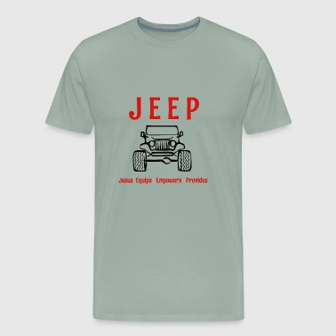 Jeep is - Men's Premium T-Shirt