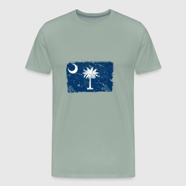Shop charleston t shirts online spreadshirt south carolina vintage flag men39s premium negle Gallery