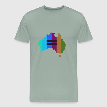 Gay Australia australia - Men's Premium T-Shirt