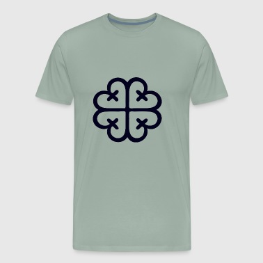 Nyamedua (Symbol of worship) - Men's Premium T-Shirt