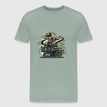 War Tank - Men's Premium T-Shirt