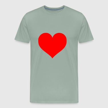 2000px Love Heart SVG svg - Men's Premium T-Shirt