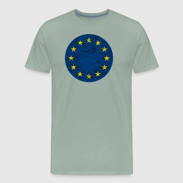EU European Union Flag - Men's Premium T-Shirt