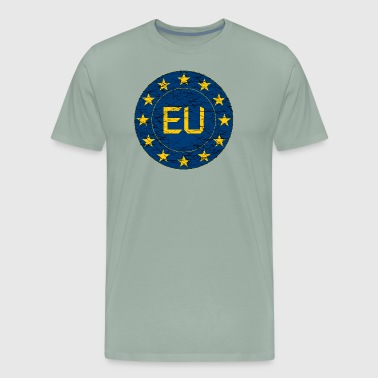 Flag of EU - Men's Premium T-Shirt