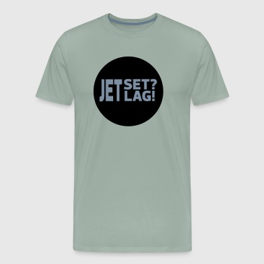 Statements 01 03 Jetset Jetlag - Men's Premium T-Shirt