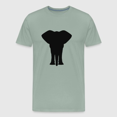 africa elephant - Men's Premium T-Shirt