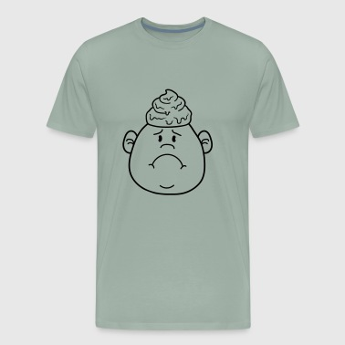 face shit heap heap heap shit floppy big head litt - Men's Premium T-Shirt