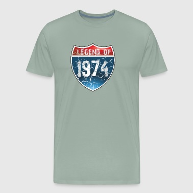 Legend Of 1974 - Men's Premium T-Shirt