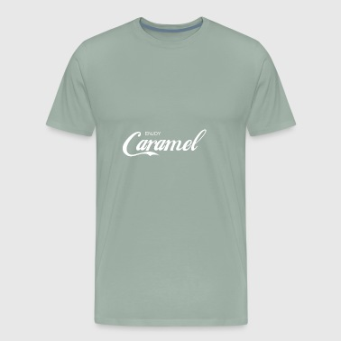 enjoy CARAMEL - Men's Premium T-Shirt