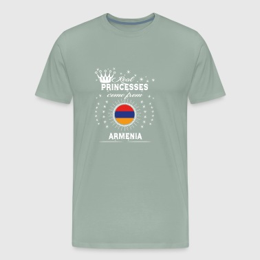 queen love princesses ARMENIA - Men's Premium T-Shirt