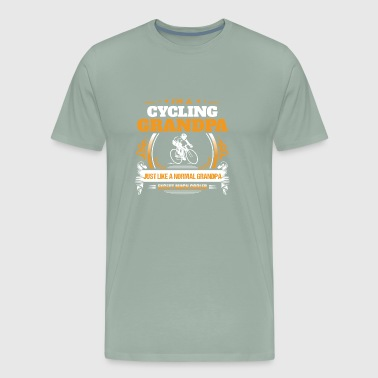 Cycling Grandpa Cycling Grandpa Shirt Gift Idea - Men's Premium T-Shirt