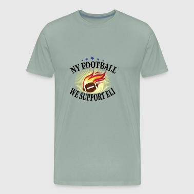 Eli NY Football We Support Eli - Men's Premium T-Shirt