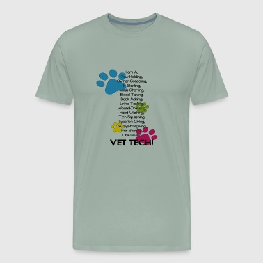 Cute Vet Tech - Men's Premium T-Shirt
