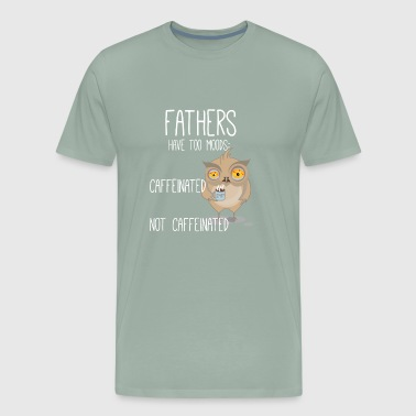 Fathers Dad Fathersday Gift Present Coffee - Men's Premium T-Shirt