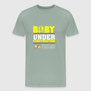 Funny Costume For Pregnancy Wife. - Men's Premium T-Shirt