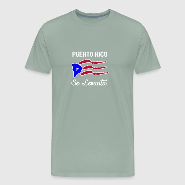 Puerto Rico Se Levanta copy - Men's Premium T-Shirt