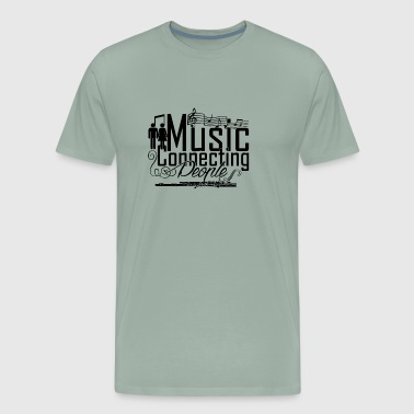Music Connecting People T Shirt - Men's Premium T-Shirt