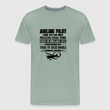 Airline Pilot Job T shirt - Men's Premium T-Shirt
