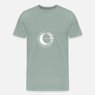 Astrophysics Solar Eclipse T-shirt. Educational t-shirt gift - Men's Premium T-Shirt
