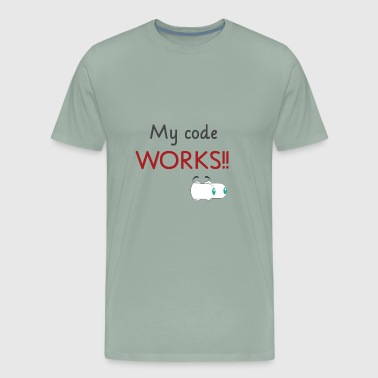 My code works - Men's Premium T-Shirt