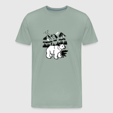Alps mountain - Men's Premium T-Shirt