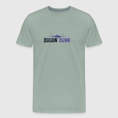 Shark Bite SHARKS Duuun Dunn - Men's Premium T-Shirt