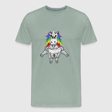 Gym Unicorn Gym Unicorn - Men's Premium T-Shirt