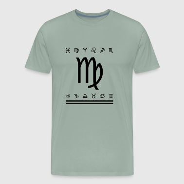 Virgo Symbol - Men's Premium T-Shirt